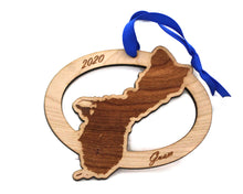 Guam Map Ornament