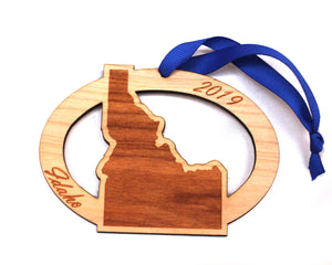 Idaho Map Ornament