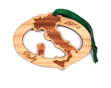 Italy Map Ornament