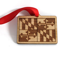 Maryland Flag Ornament