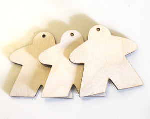 Meeple Cutouts, Set of 3