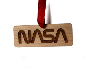 NASA Logo Ornament (Worm)