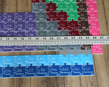 Periodic Table of Elements Puzzle (128 Pieces)
