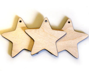 Star Cutouts, Set of 3