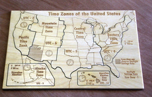 US Time Zone Puzzle