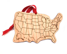US State Map Ornament