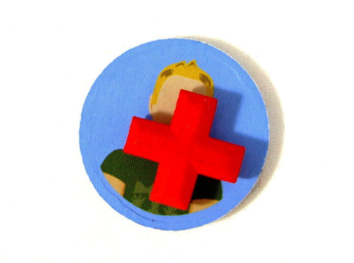 Flash Point: Fire Rescue Heal Tokens, Set of 3