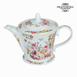Bravissima Kitchen - Bloom tekanne - Hvit