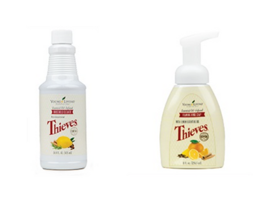 BUNDLE w/ Thieves Foaming Hand Soap and Thieves Cleaner, 14.4 oz