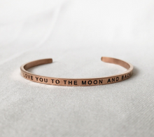 Thirty Nine One Twenty I Love You to the Moon and Back Bracelet