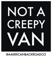Not a Creepy Van Sticker