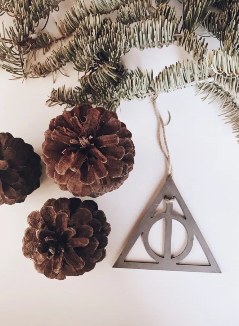 Deathly Hallows Symbol Ornament