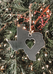 Texas State Ornament