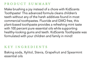 Kidscents Toothpaste / 4 oz