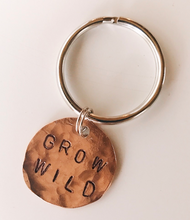 GROW WILD key chain