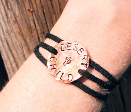 Desert Child Wrap Bracelet