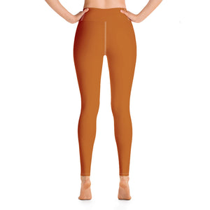 Badass Copper Yoga Leggings