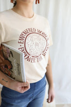 Empowered Women Empower The World / Red letters