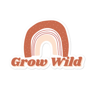 Grow Wild Rainbow sticker