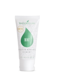 Satin Facial Scrub, Mint / 2 oz