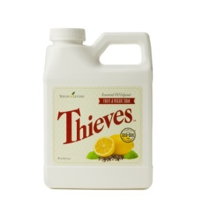 Young Living Thieves Fruit and Veggie Soak / 16 oz