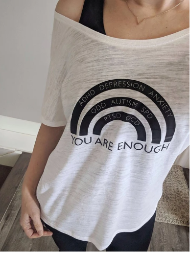 You Are Enough Off Shoulder