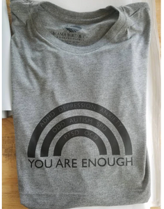 You Are Enough Boyfriend Tee