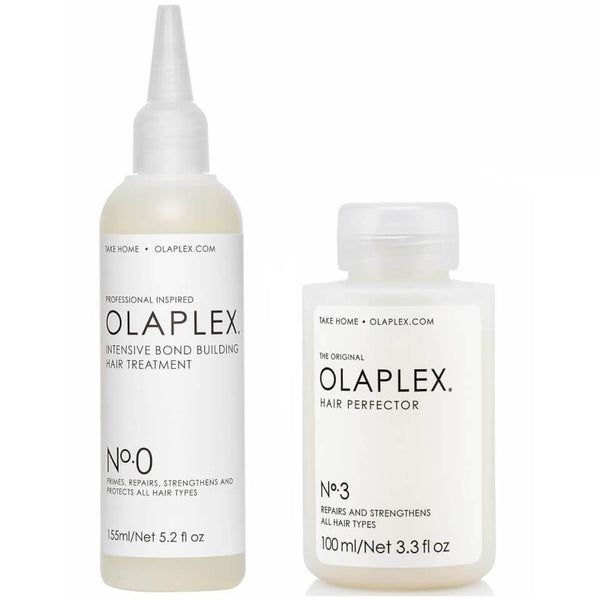 OLAPLEX No 0 and No 3 Bond Perfector Pre Treatment Kit