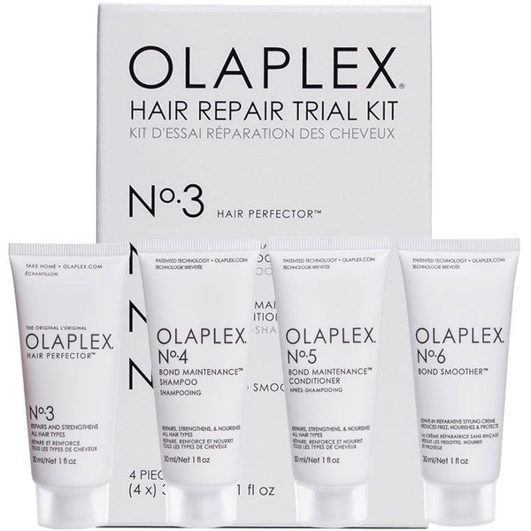 OLAPLEX Hair Repair Trial Kit Bundle 4 x 30ml No 3, No 4, No 5, No 6
