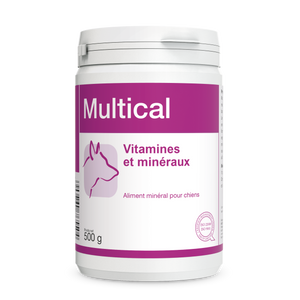 MULTICAL. Vitamines chiens adultes.