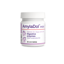 AMYLADOL. Enzymes digestives pour chiens et chats.