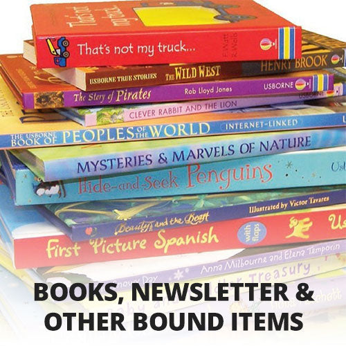 Books, Newsletter & Other Bound Items