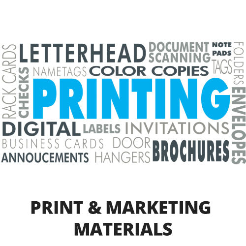 Print & Marketing Materials