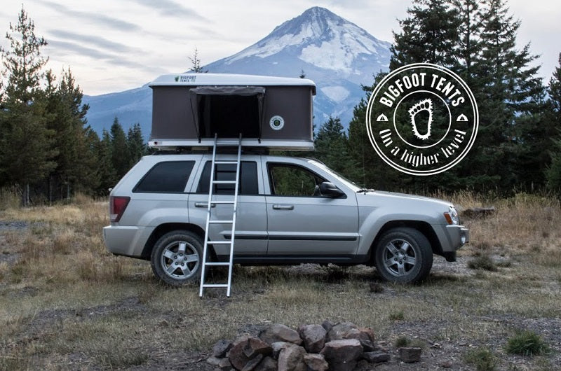 Bigfoot Tents Explorer Series Hardshell Roof Top Tent - Roof Top Tents Official