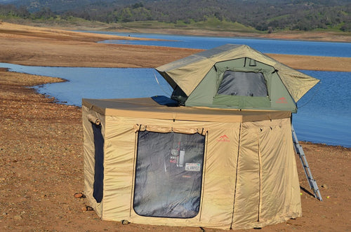 Overland Pros Wraptor 2500 Wall Set (Large 270 Degrees) - Roof Top Tents Official