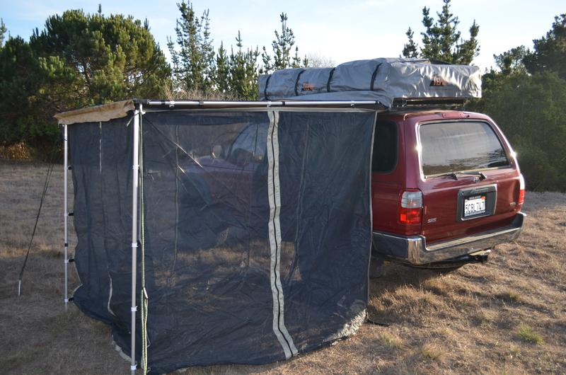 Tepui Mosquito Net Walls - Roof Top Tents Official