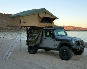 Tuff Stuff Ranger Overland Rooftop Tent & Annex Room, 3 Person - Roof Top Tents Official