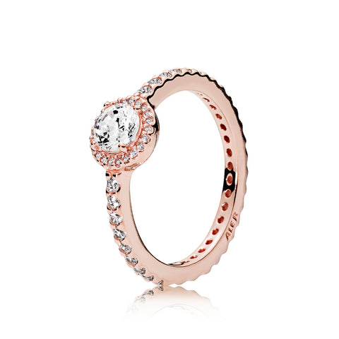 Ring in PANDORA Rose with clear cubic zirconia 2