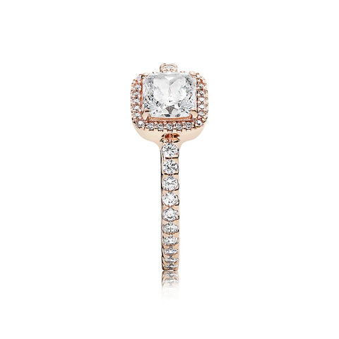 Ring Timeless Elegance with Clear CZ
