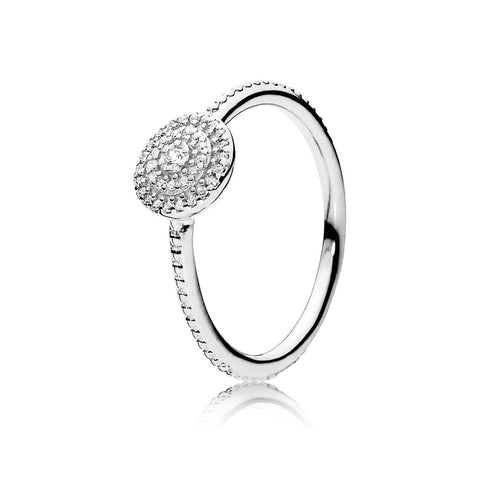 Ring Radiant Elegance with Clear Cubic Zirconia