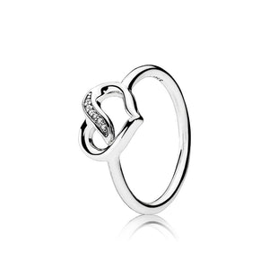 Ring Ribbons of Love ring by Pandora