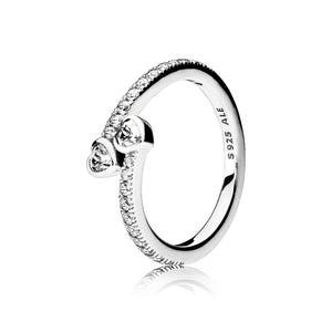 A forever hearts ring by Pandora