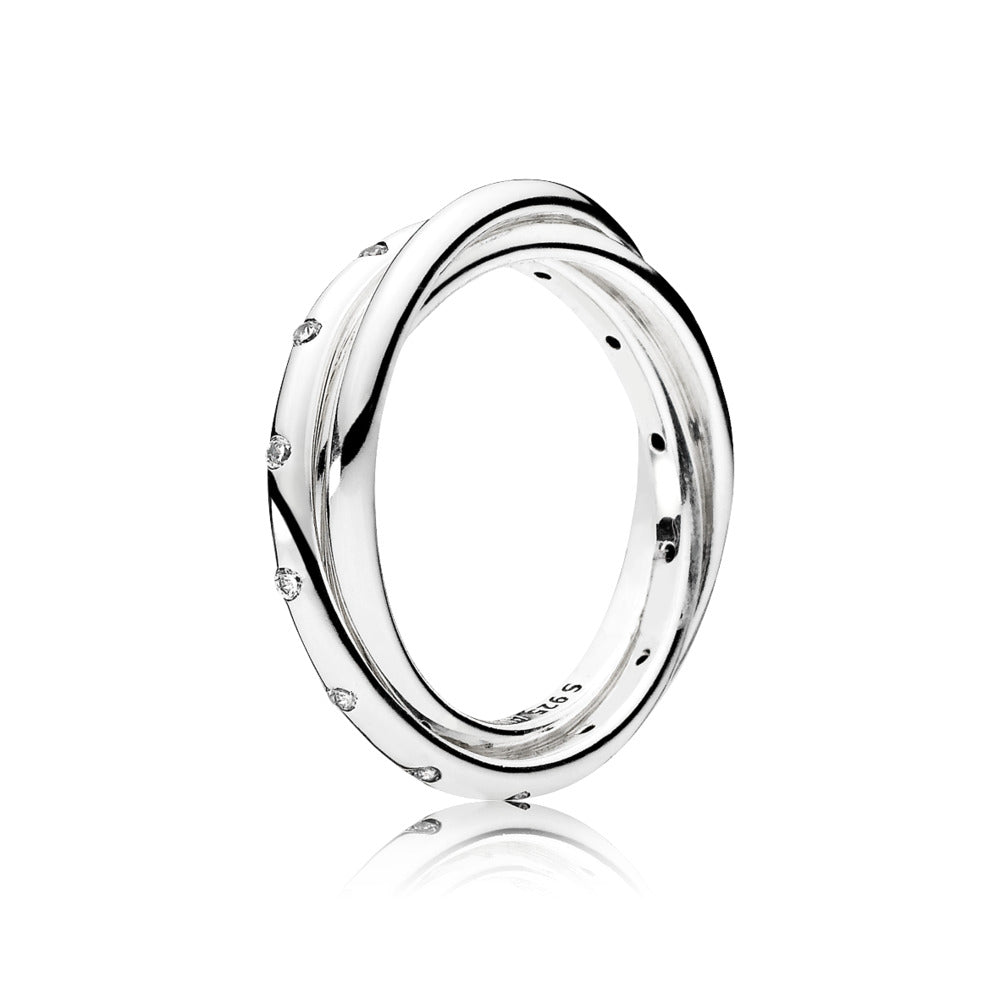 Swirling Symmetry, Clear CZ