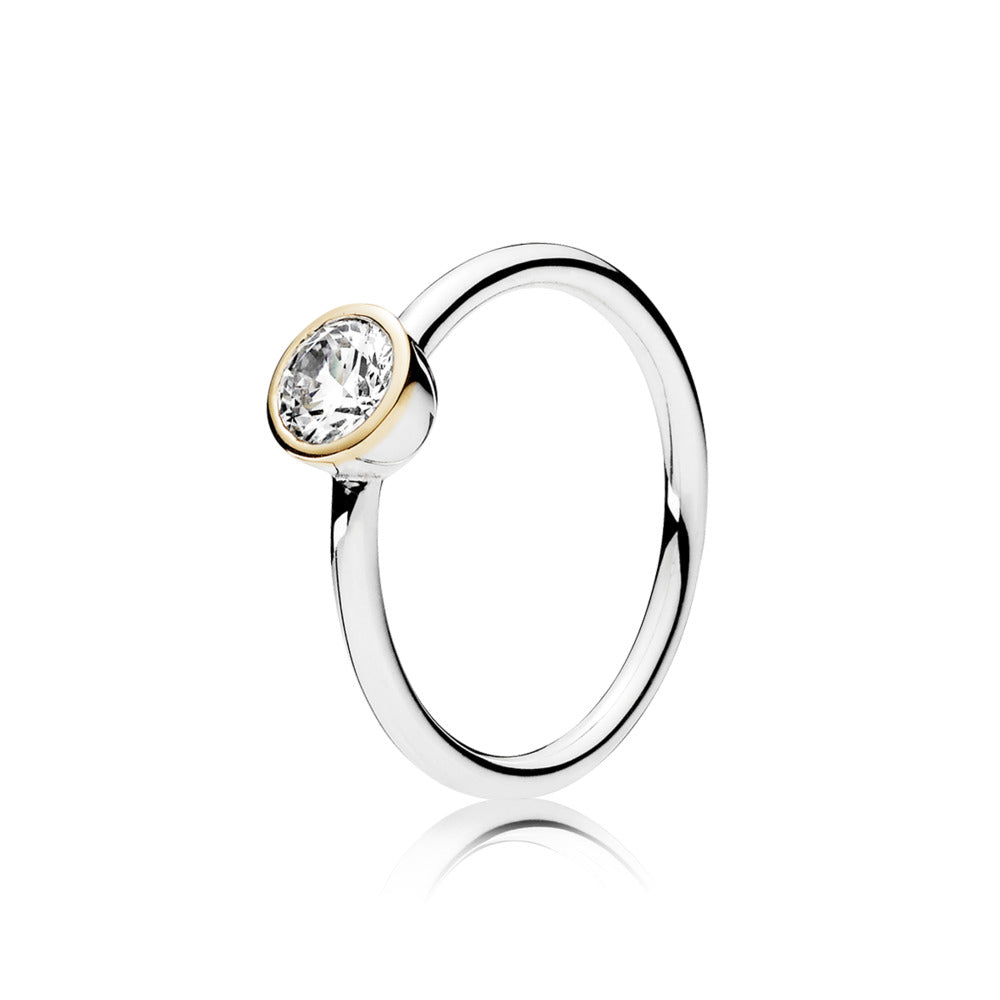 Petite Circle Ring by Pandora.