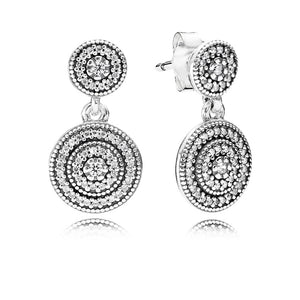 Radiant Elegance dangle earrings by Pandora.