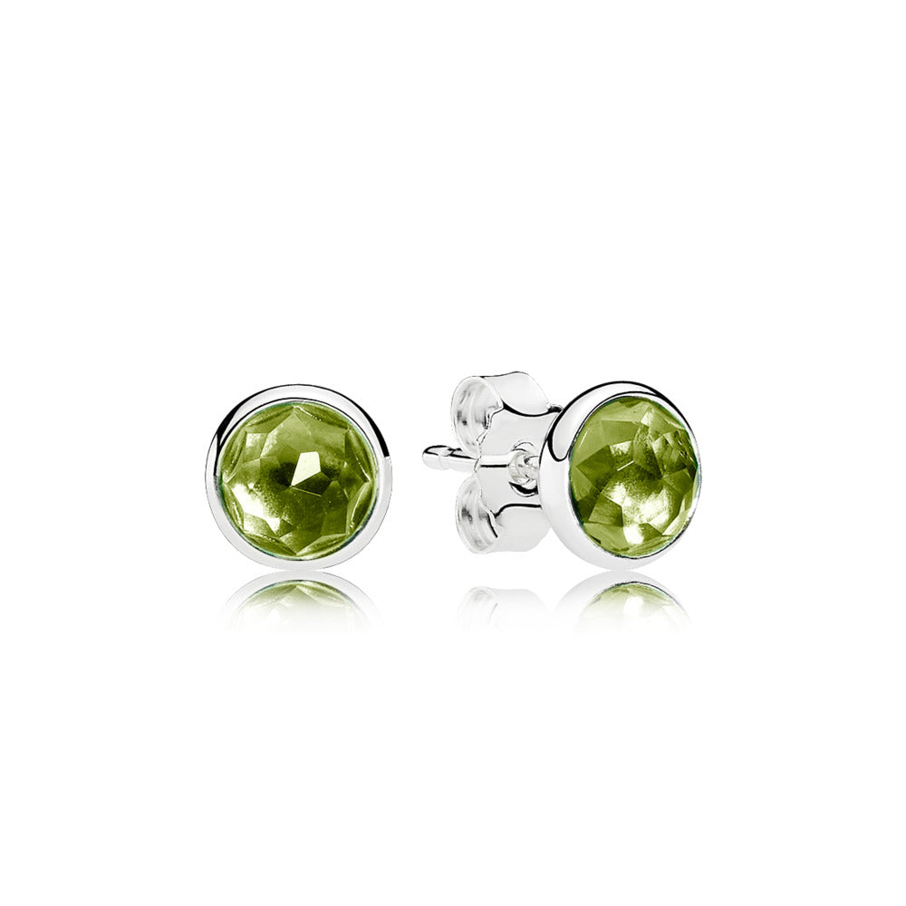 August droplet studs by Pandora.