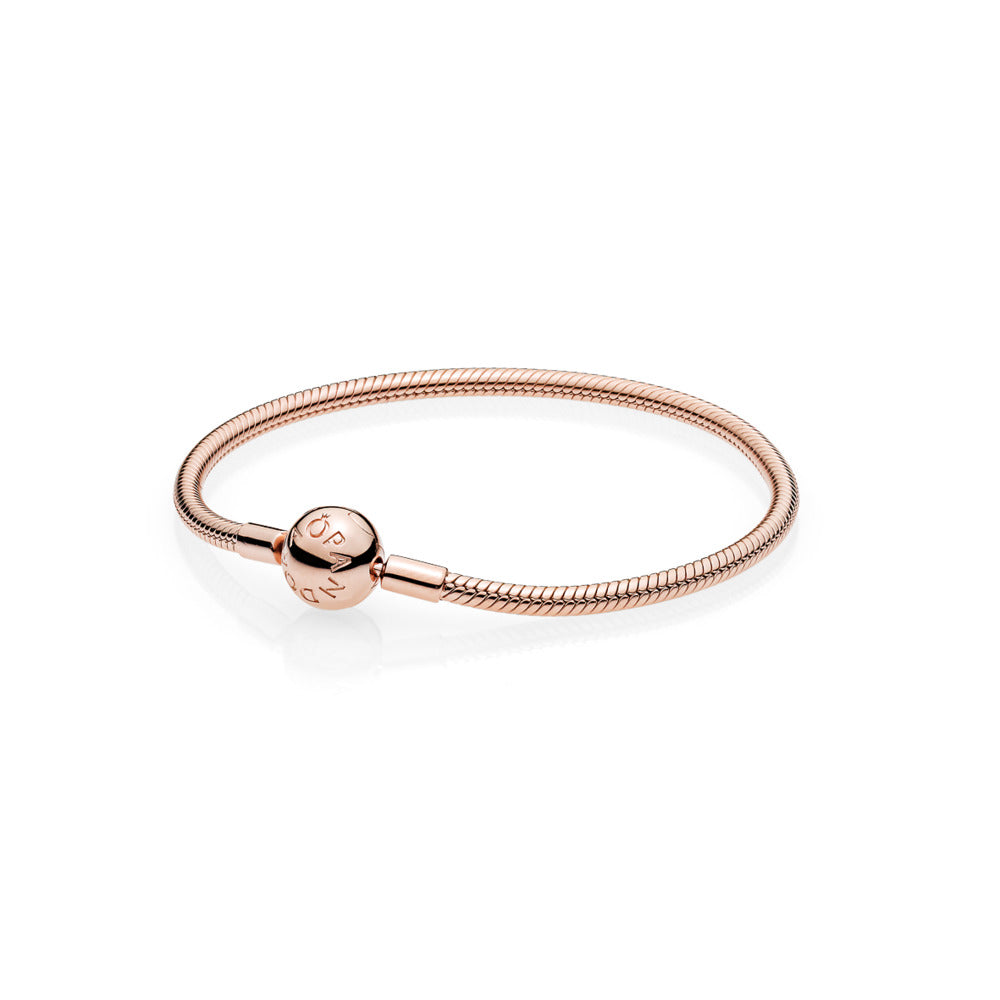 Smooth PANDORA Rose Clasp Bracelet