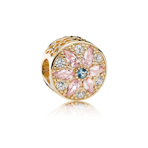 Opulent Floral Multi-Colored Crystals charm by Pandora.