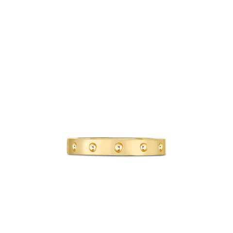 A yellow gold ring made by Roberto Coin Santa Fe Jewelry