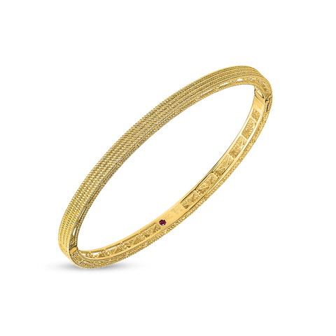 A bangle made by Roberto Coin Santa Fe Jewelry.